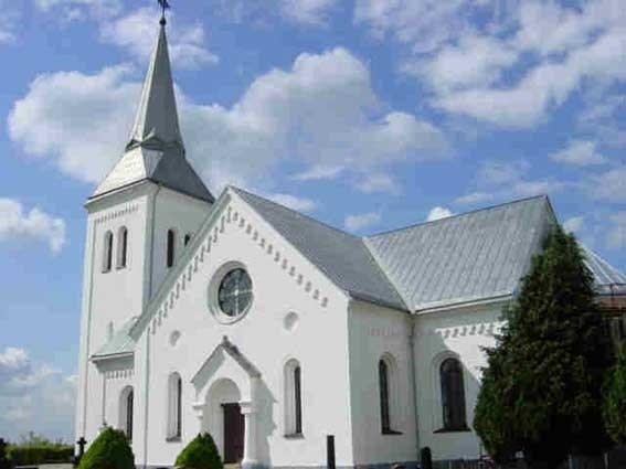 Södra Mellbys vackra kyrka