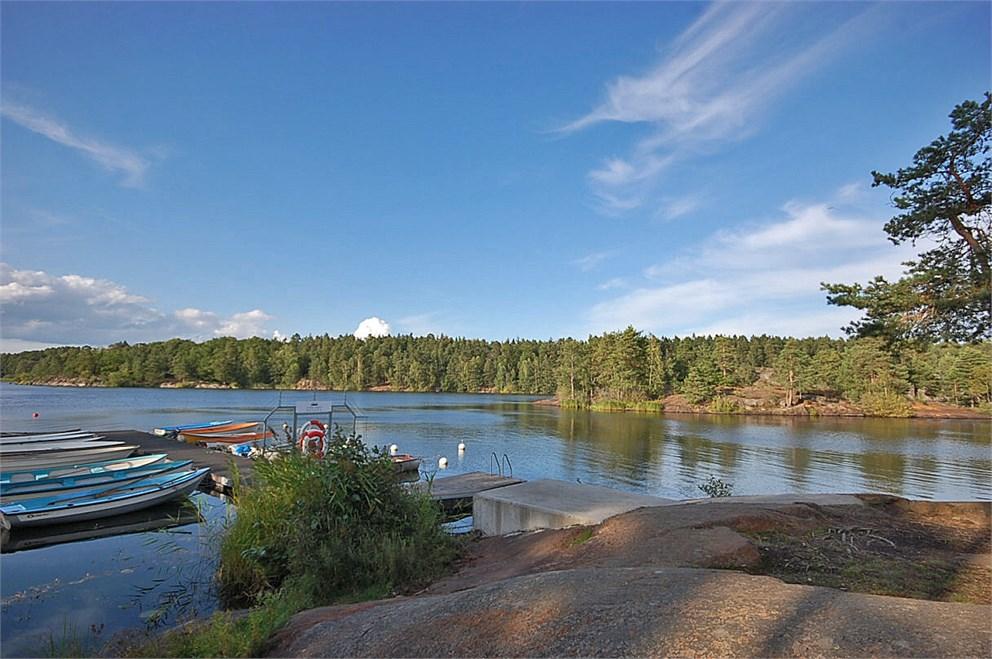 Båtklubb vid Drevviken