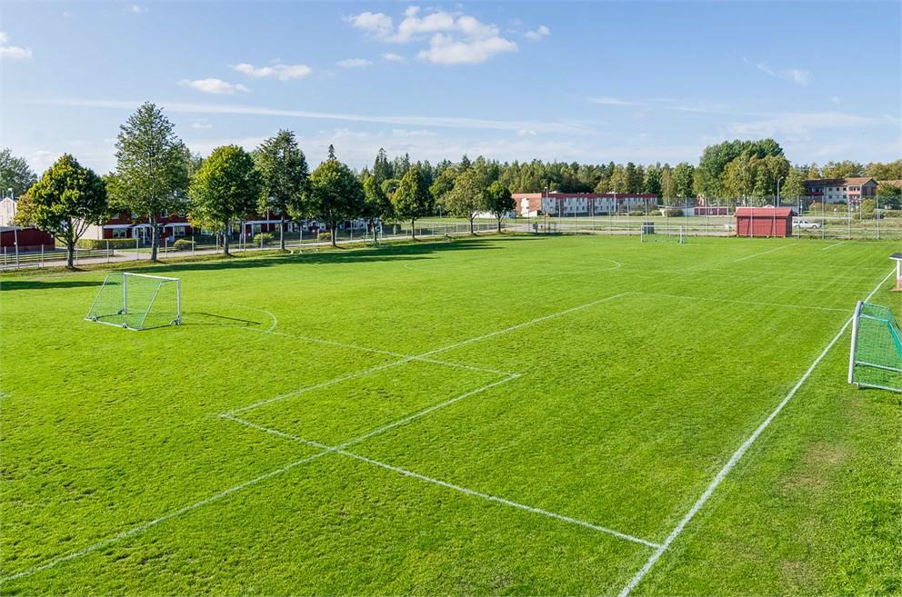 Fotbollsplan i Södra Björksätra