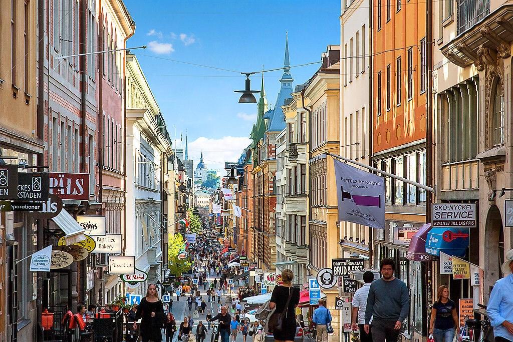 Området - Drottninggatan