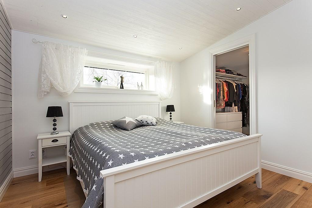 Huset har fyra sovrum