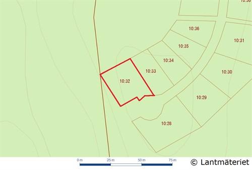 Fastighetskarta Ed 10:32