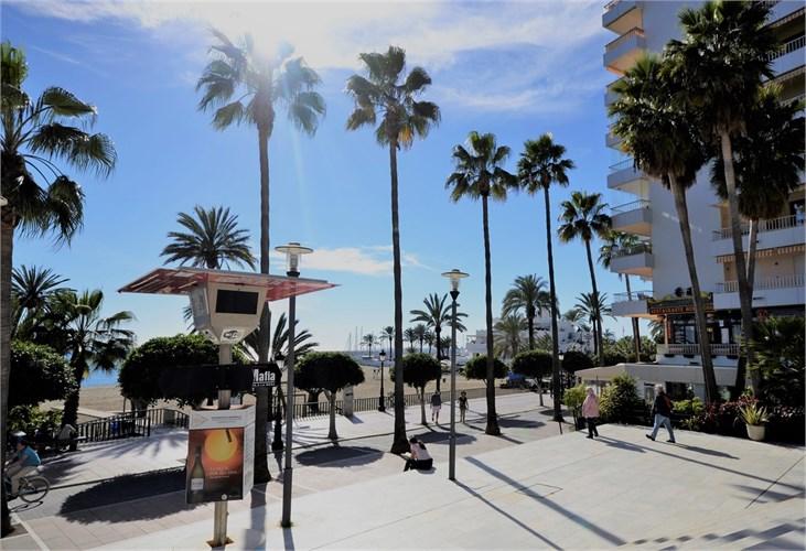 Marbella strandpromenad