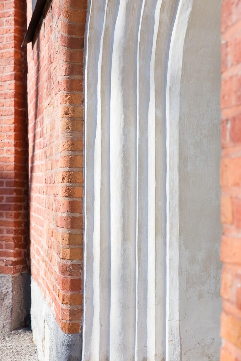 Detaljbild kyrkan