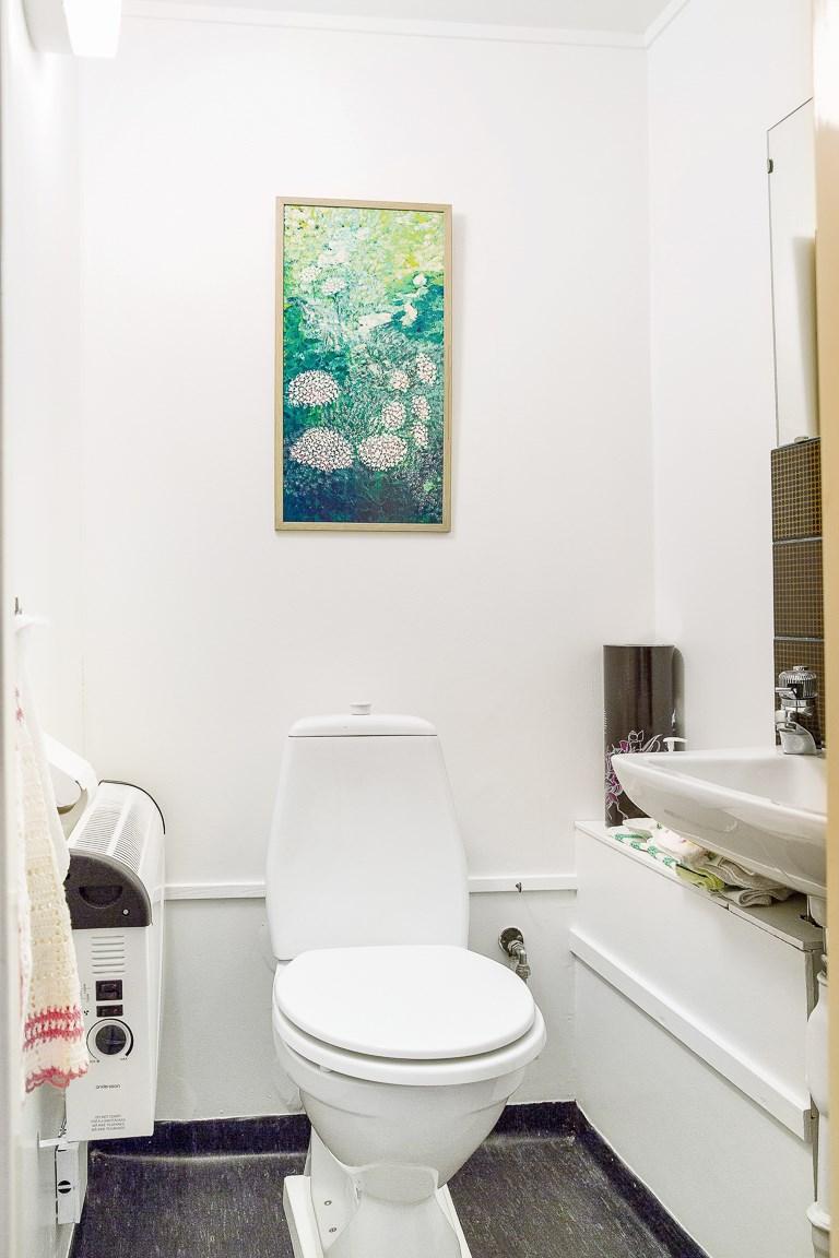 WC i hallen