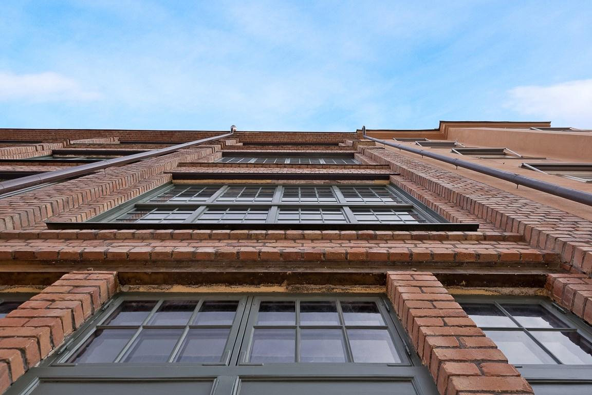 Vacker fasad