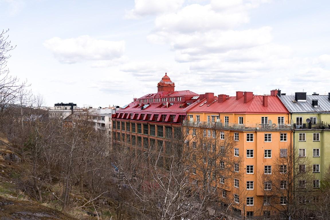 Fastigheten sedd från Stadshagen