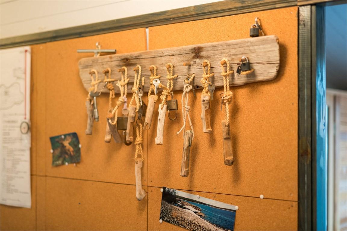 Många nycklar blir det!