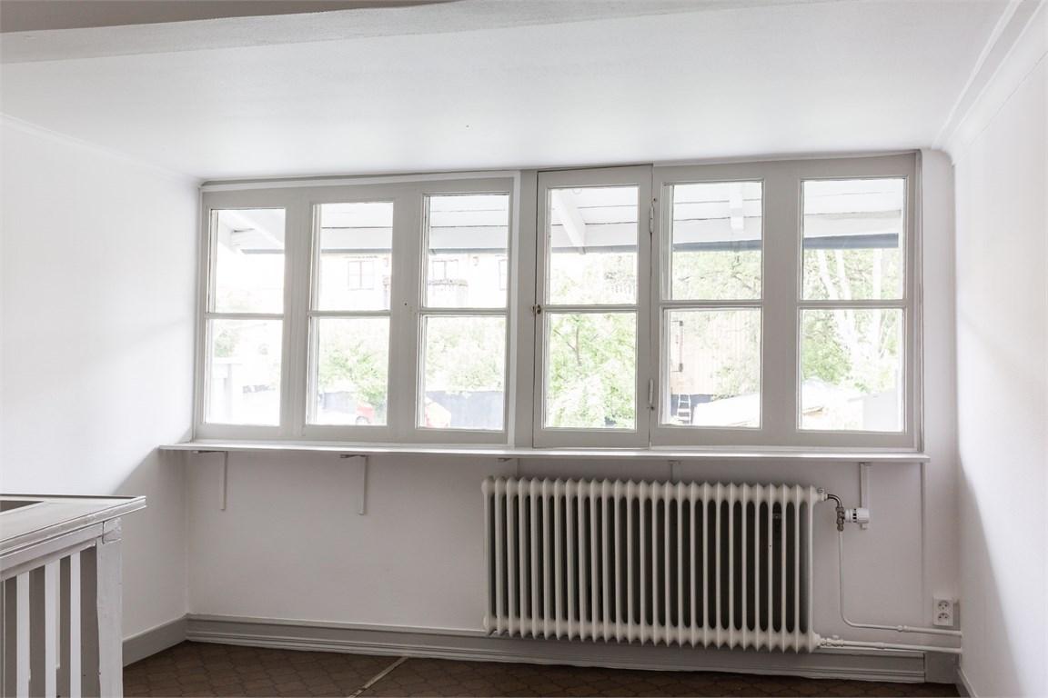 Möblerbar hall på övervåningen
