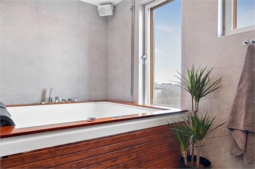 Jacuzzi i badrummet