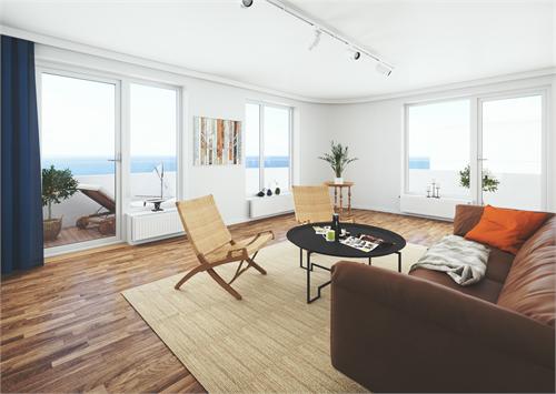 Kuststad, exempelbild vardagsrum