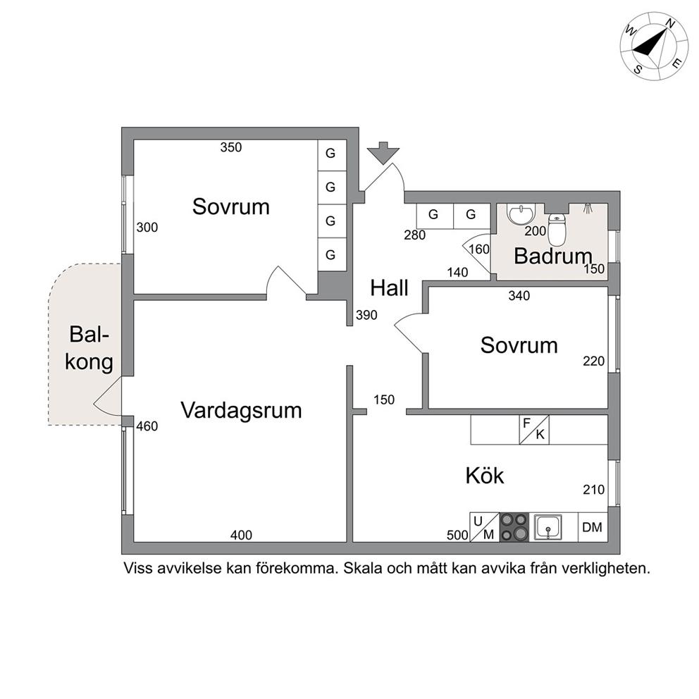 1. våning