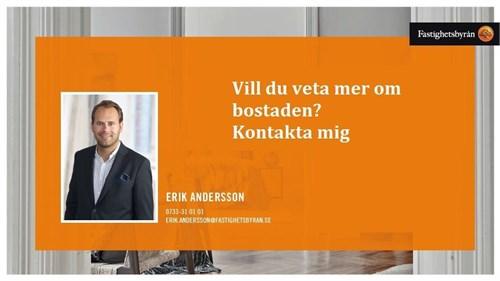 Mäklare Erik Andersson