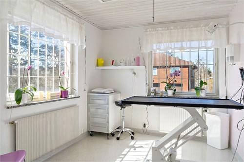 Behandlingsrummen kan lätt bli arbetsrum/sovrum