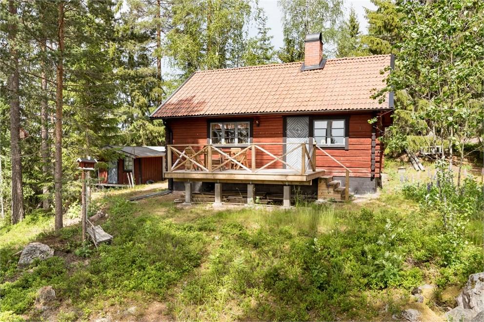 Huset från baksidan