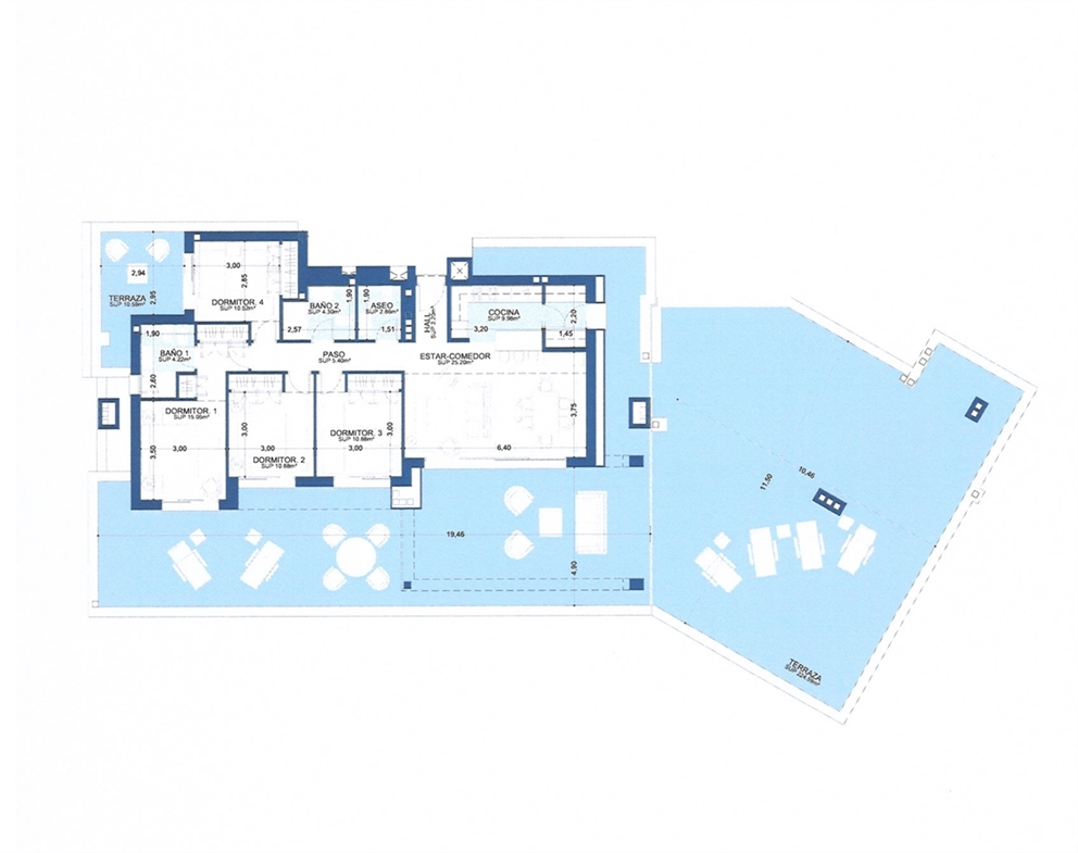 Plano del piso 6