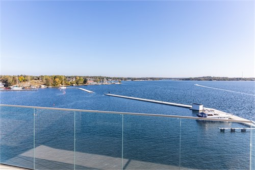 Utsikt från balkongen