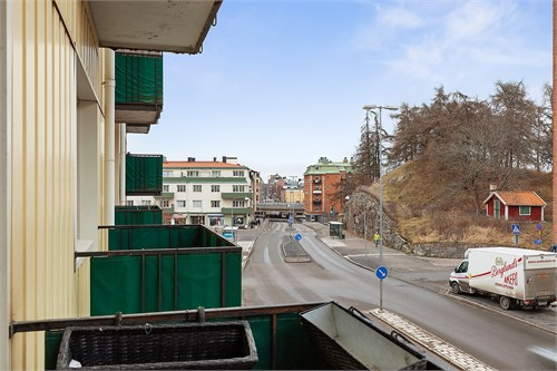 En av balkongerna