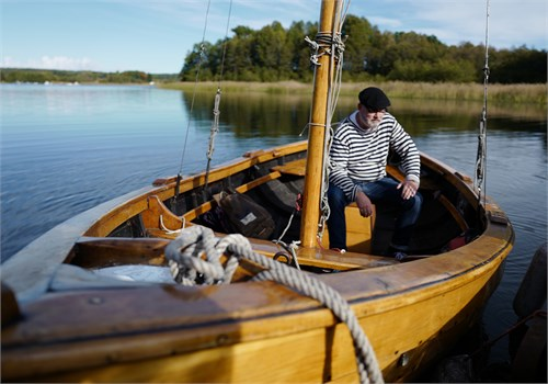 Badrocksavtsånd till bad- och småbåtsliv