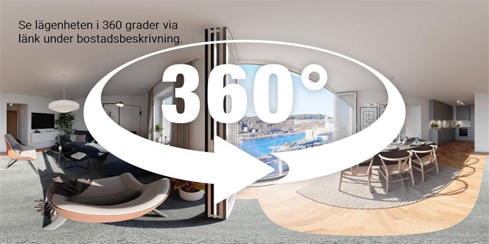Unik 360 graders vy finn tillgänglig.