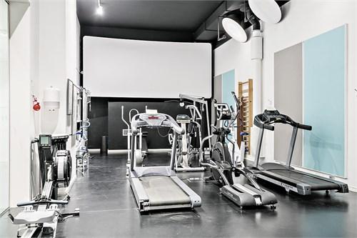 Föreningens välutrustade gym